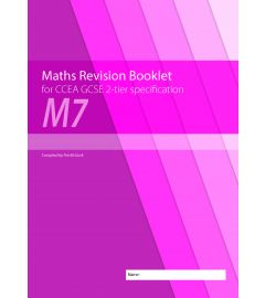 M7 Maths Revision Booklet for CCEA GCSE 2-tier Specification